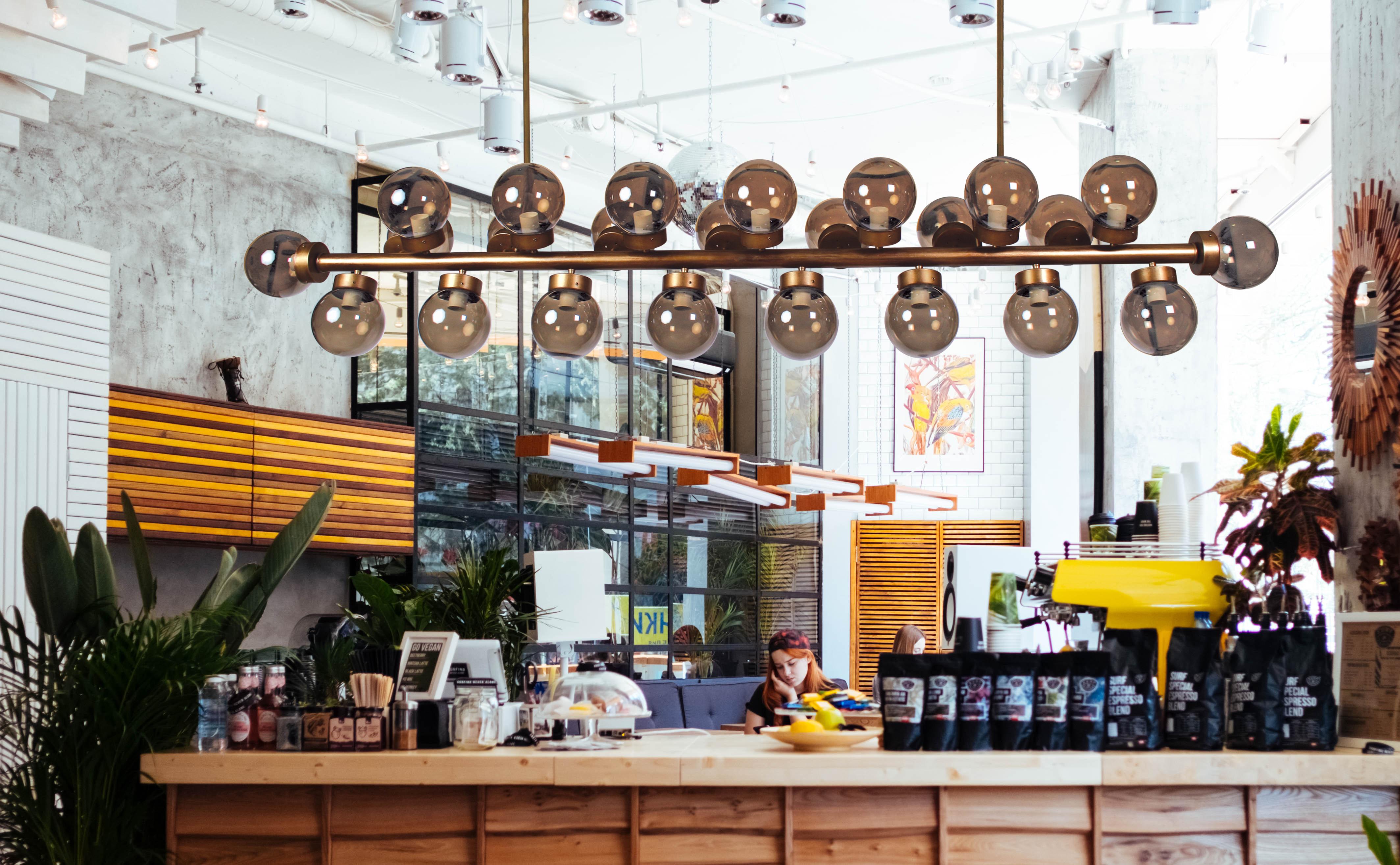 Lámparas de gran formato