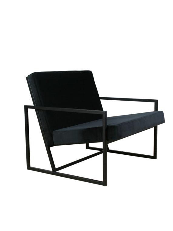 sillon negro lado 1