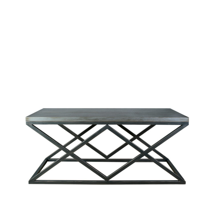 mesa centro negra