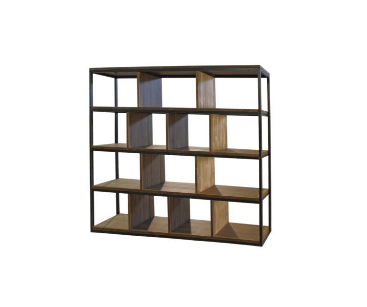 estanteria madera