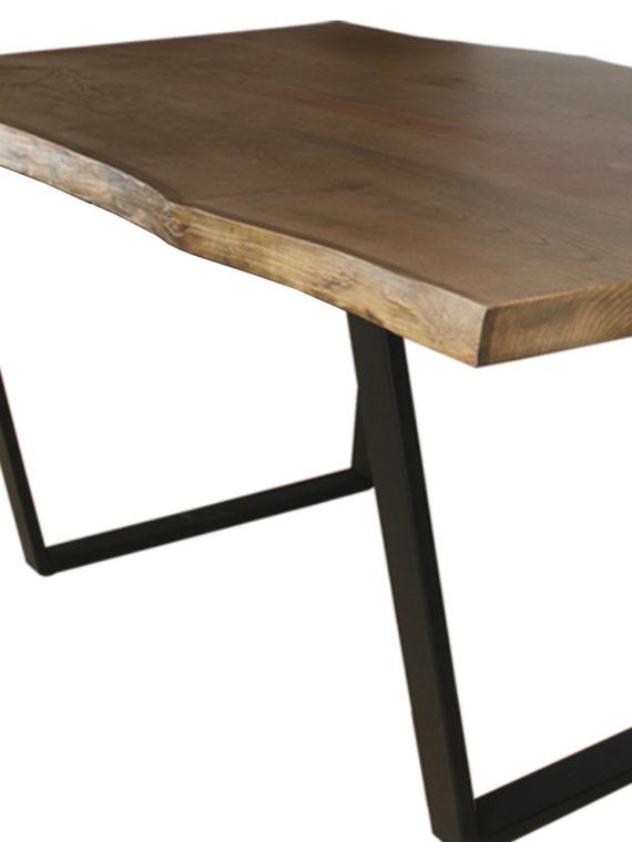 mesa madera castaño